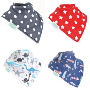 Baby boy Dino and Stars 4 Pack Sock Set