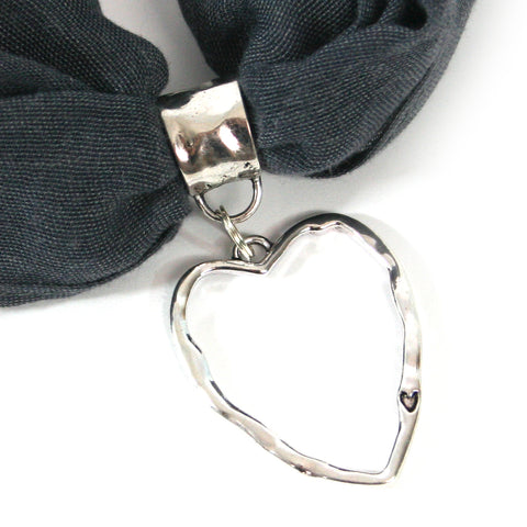 Scarf Jewellery  Big Heart  StyleGG6801-11