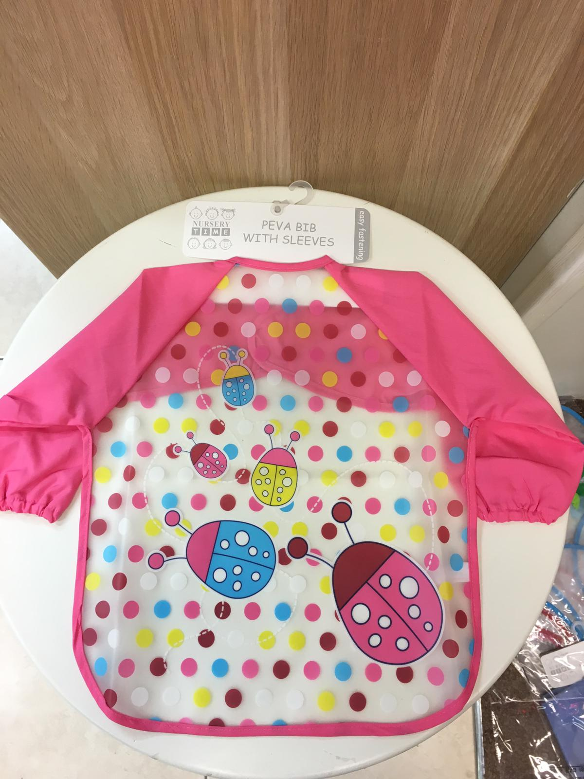 Plastic Bib with   Sleeves