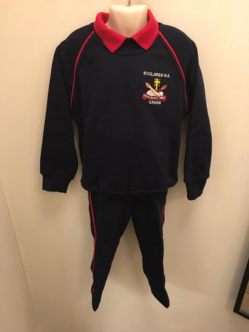 St  Clare's N.S.  Complete  Tracksuit