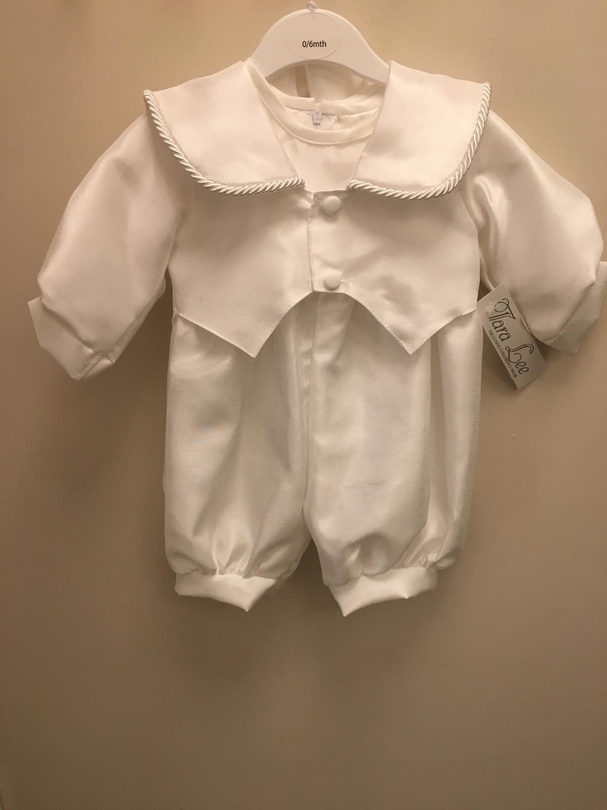 Boys  Romper christening outfit TL555