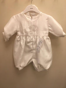 Boys  romper christening outfit with  cross style 233