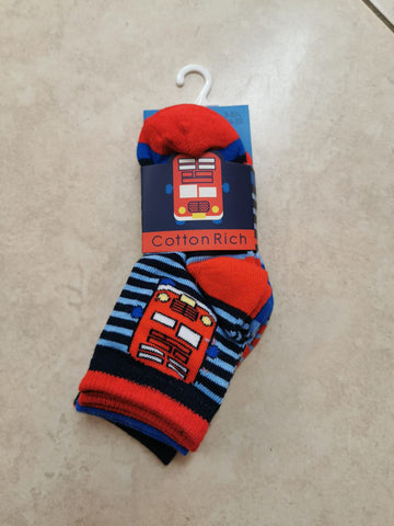 boys  bus  socks