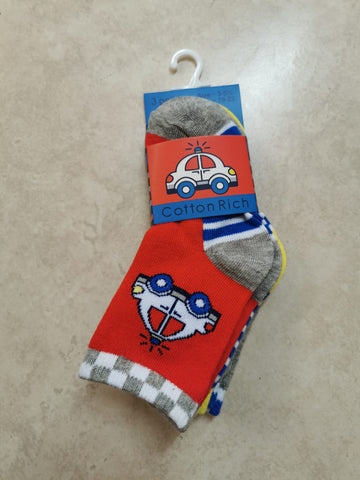 boys  car socks