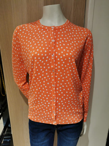 Mudflower Ladies Polka Dot Cardigan SV-21-MF5150
