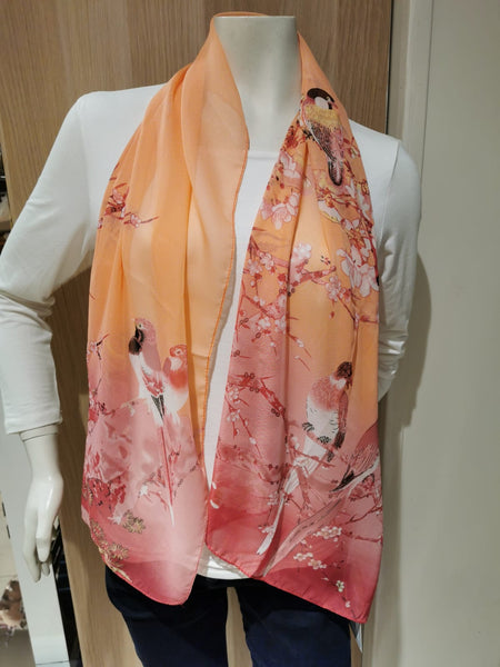womens floral scarves
