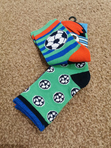Boys 3Pack Football Socks  42B618