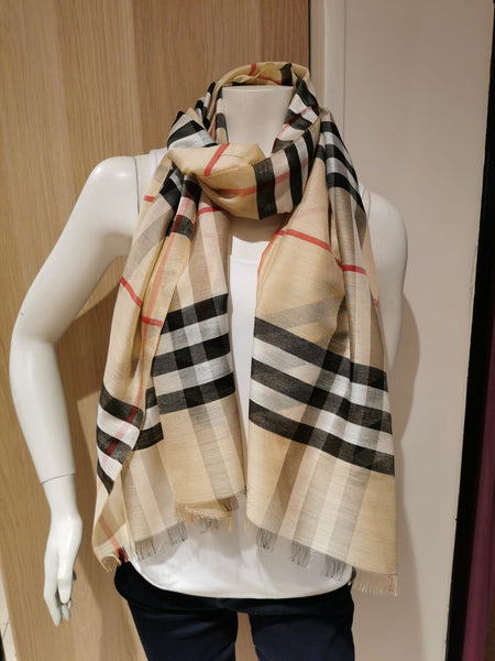 ladies burberry  scarf