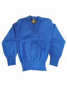 royal plain v neck school jumper