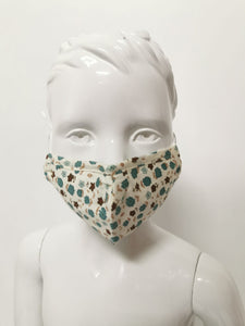Kids Print/Floral Reusable Face Covering/ Mask