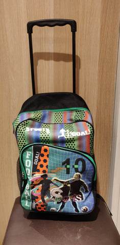 Freelander School bag with wheels 34f272