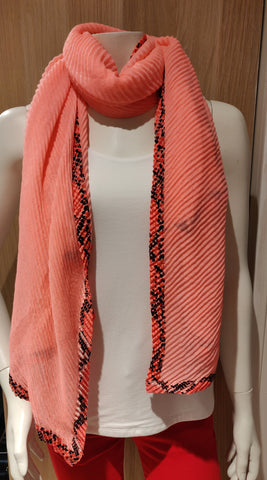 Ladies Scarf  with  Animal Print style 618630A