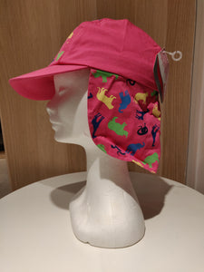 Girls  summer  hats  with  flap 0163409 by zoo