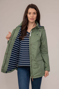 Iona Ladies Coat - Khaki