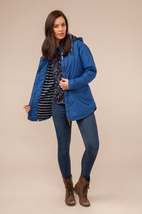Iona  Ladies Coat - True Blue