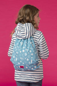 Kids Waterproof Drawstring Bag  by Lighthouse