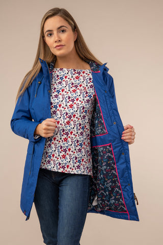 Lauren Ladies Coat - True Blue