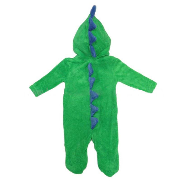 LILLY & JACK BABY 3D DINOSAUR FLEECE ONESIE/ALL IN ONE Q17568:
