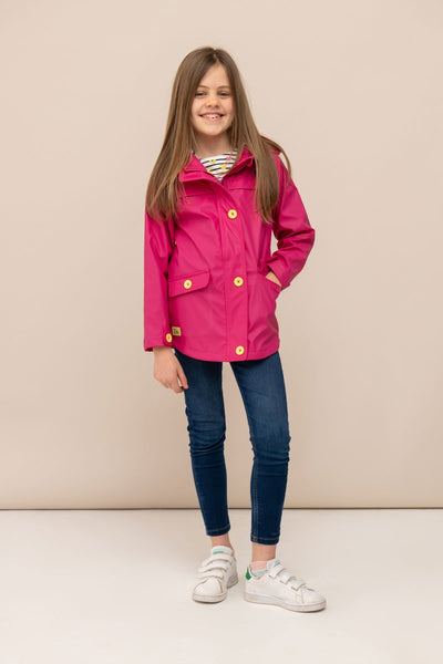Sophia Jacket - Raspberry