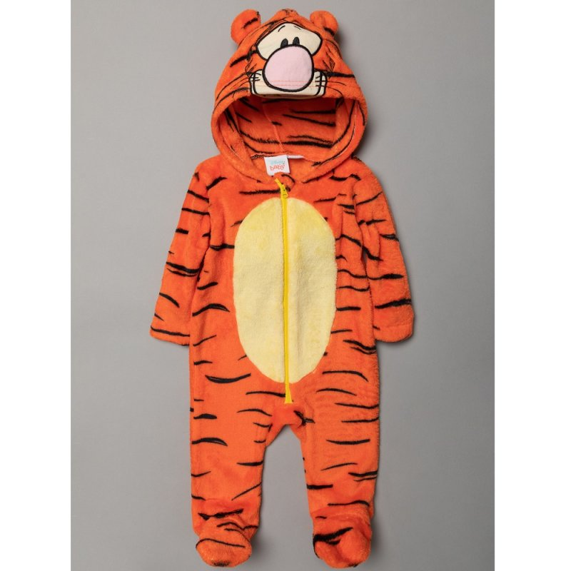 DISNEY BABY TIGGER FLEECE ONESIE S19500