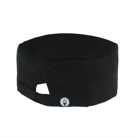 A704 Chef Works Cool Vent Beanie Black