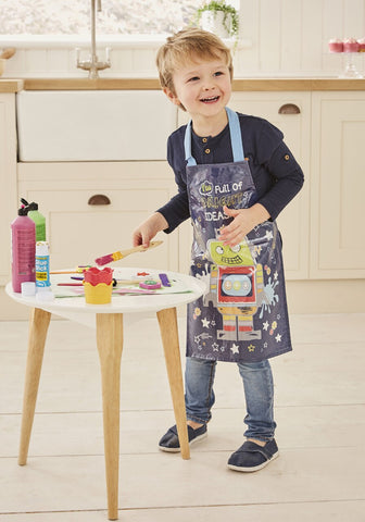 Cooksmart Children's Robot Wipe Clean Apron AP1025