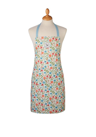 Cooksmart Country Floral 100% Cotton Apron 1376