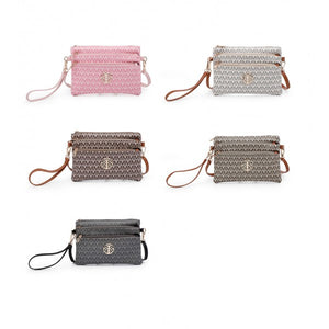 Ladies Clutch Bag With Special Edition M Badge E-3080-1