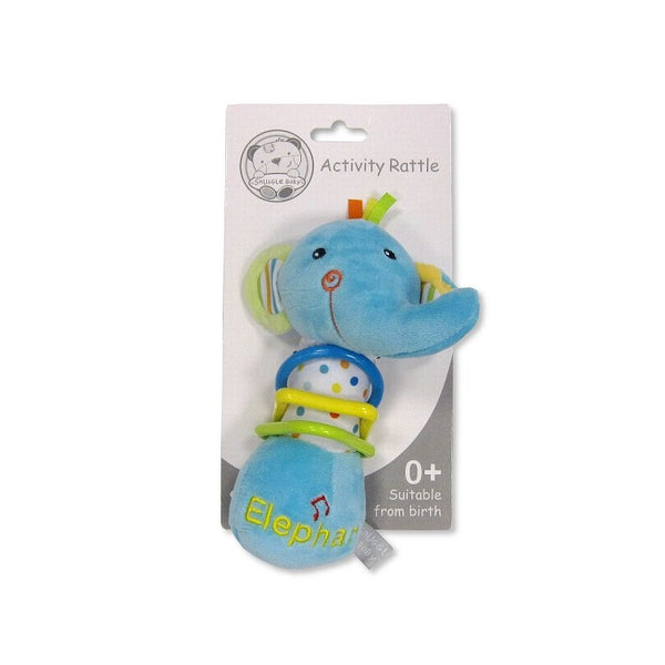 Baby Musical Squeeze And Rattle Toy – Elephant