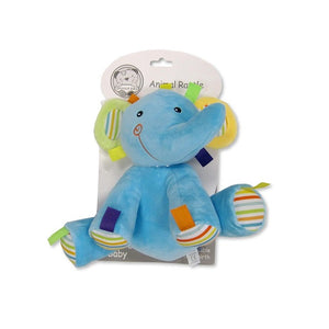 Baby Animal Rattle Toy – Elephant