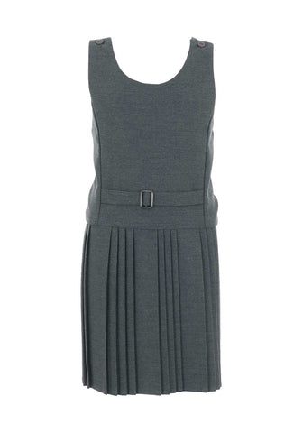 Girls Grey School Pinafore  style 264
