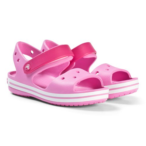 Crocs Kids' Crocband™  Sandal CandyPink/ Party  PINK