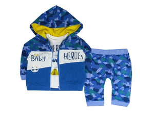 TONGS BABY HERO 3-PIECE SET BABY WEAR :