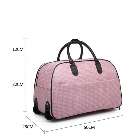 Ladies Moda LUGGAGE Holdall P1001-19