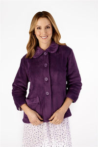 Ladies Mini  Waffle Bedjacket BJ4300