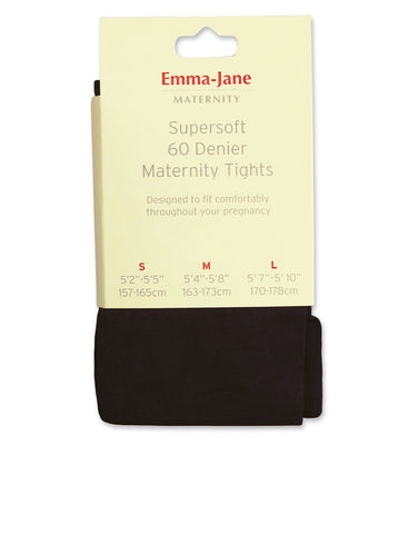Maternity  Tights 60 Denier Microfibre Opaque Tights 554  by  Emma Jane