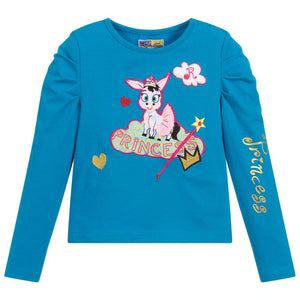 Girls Asconda Long  Sleeved Top