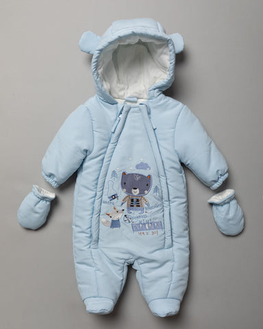 Rockabye Baby Boys Micro Fibre Snowsuit Mini Explorer S19635