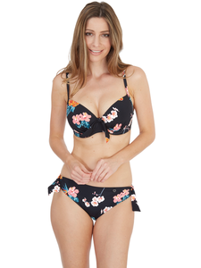 Tropical Moulded Plunge Bikini top