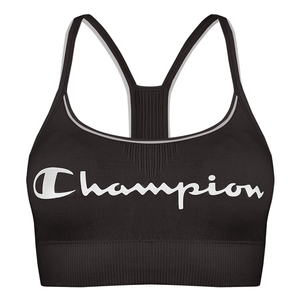 Champion Seamless Ladies Fashion Crop Top Black
