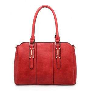 Ladies Moda Handbag With Three Compartments