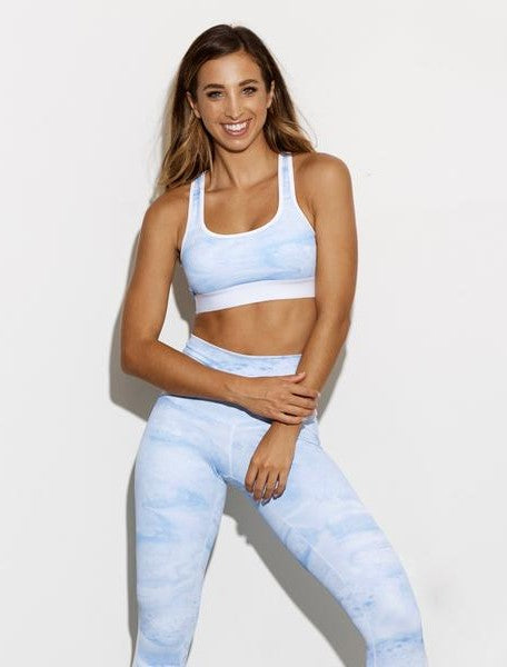 In The Clouds Sports Bra