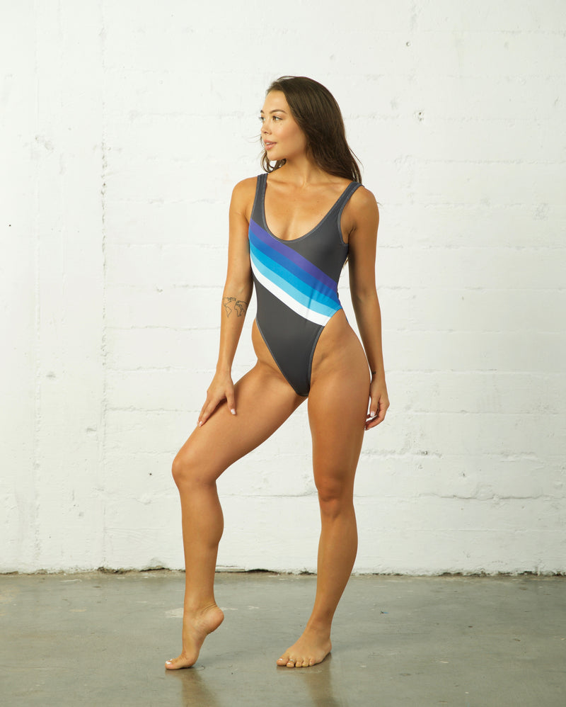 Retro Sporty Swim