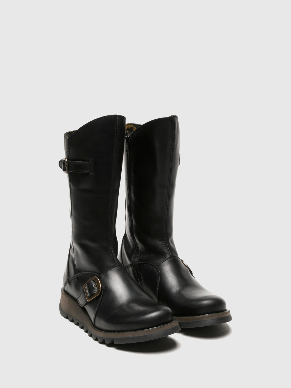 Buckle Boots MES 2 BLACK
