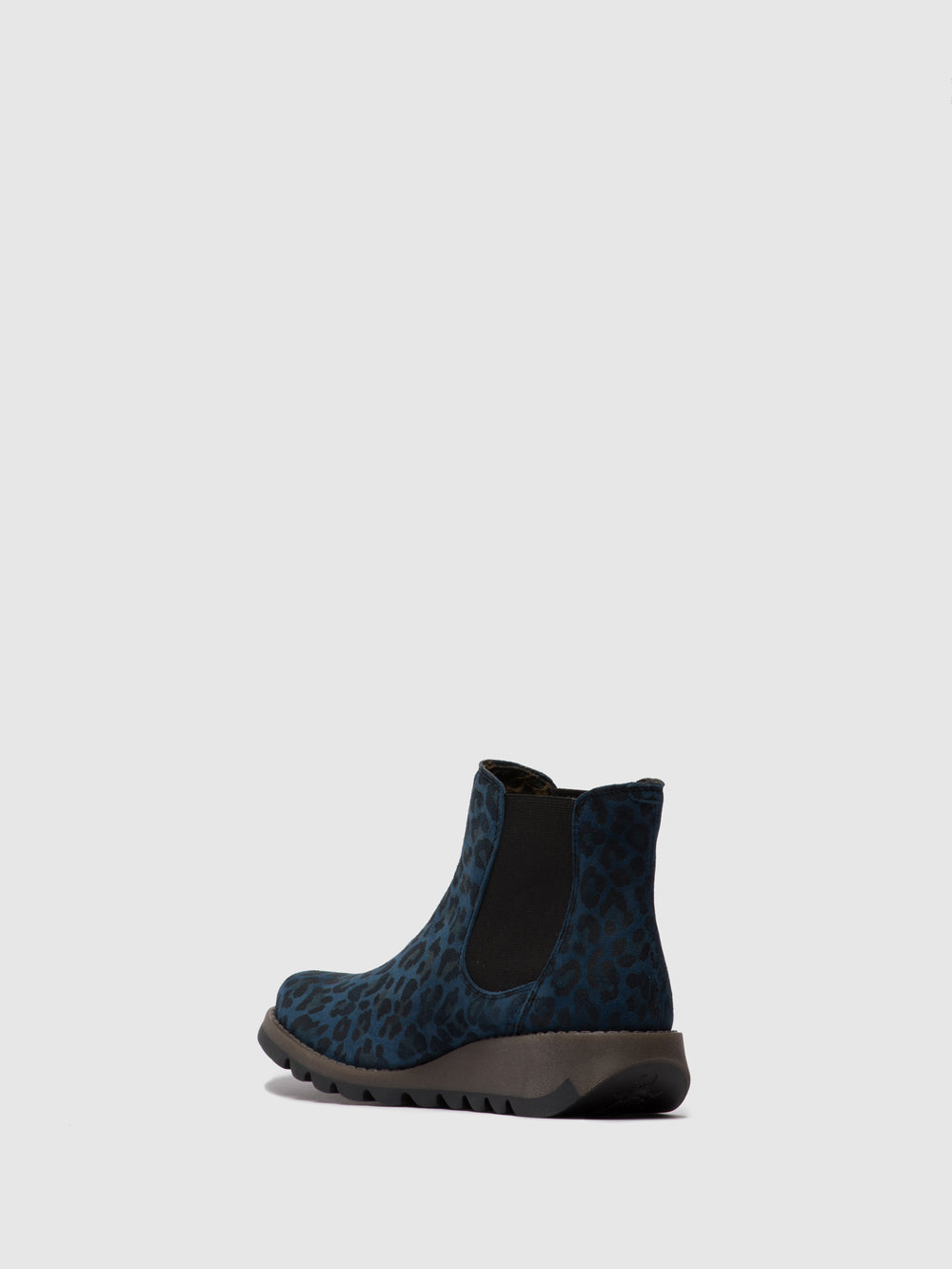 Chelsea Ankle Boots SALV CHEETAH NAVY