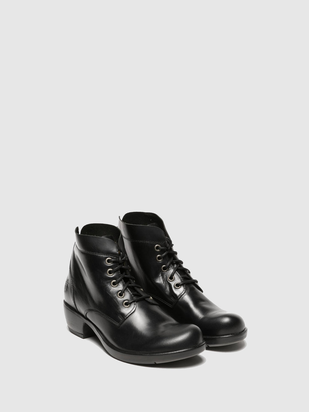 Lace-up Ankle Boots MESU780FLY BLACK