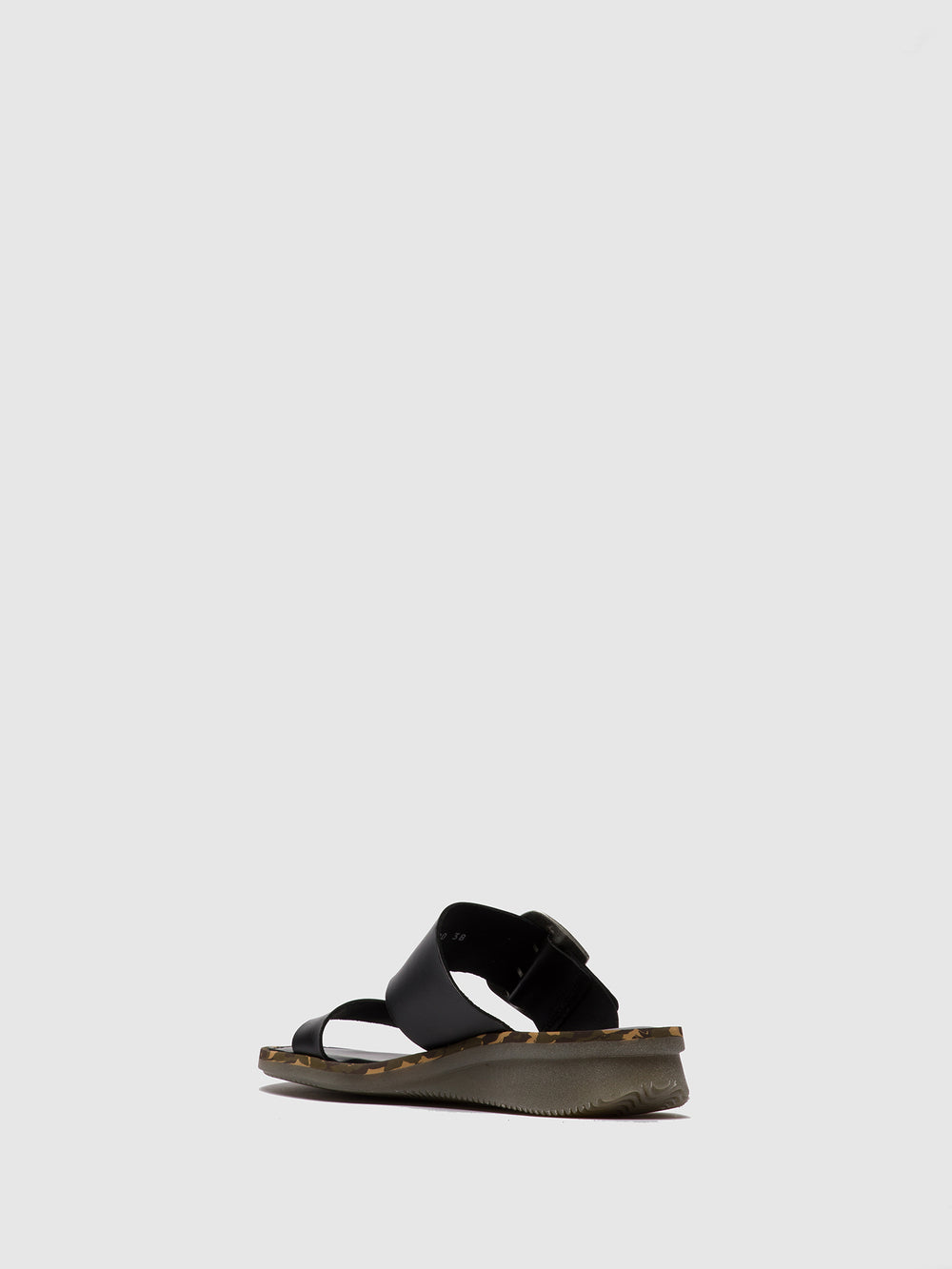 Buckle Sandals CAPE205FLY BLACK
