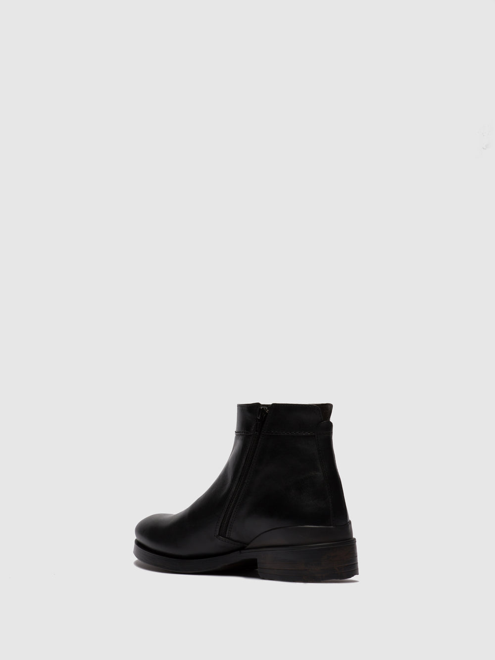 Zip Up Ankle Boots MIBO345FLY ESTIGMA(VEGETAL) BLACK