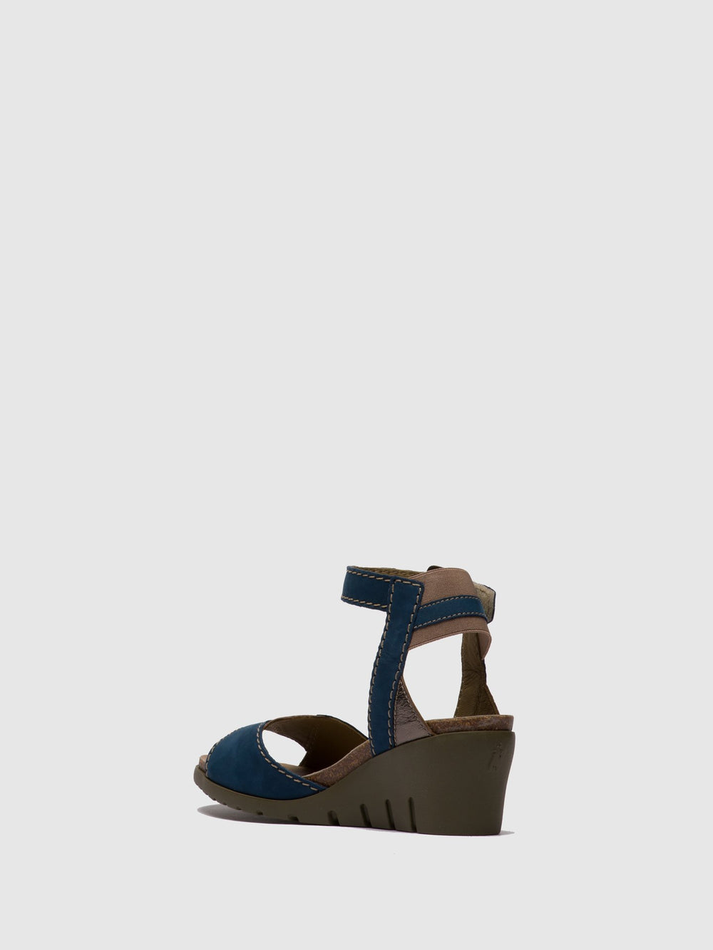 DarkBlue Ankle Strap Sandals