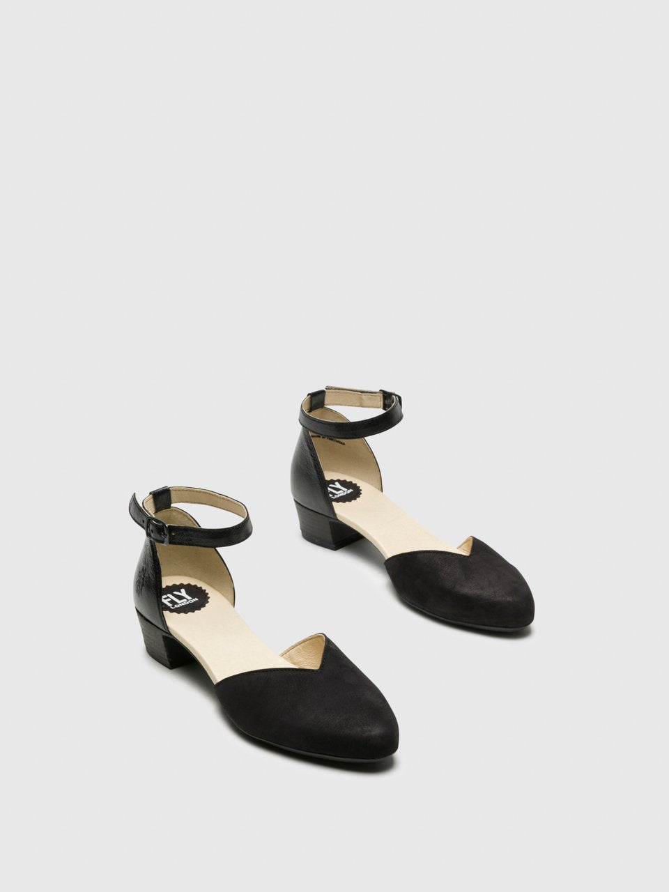 Ankle Strap Sandals LOGI459FLY BLACK/BLACK